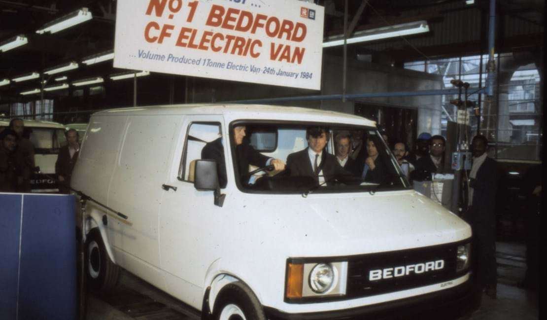 Europe's first production electric van, which was tested at Millbrook Proving Ground