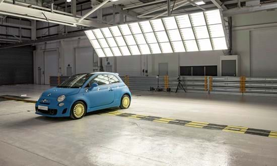 Vehicle crash test facility at Millbrook for car safety testing