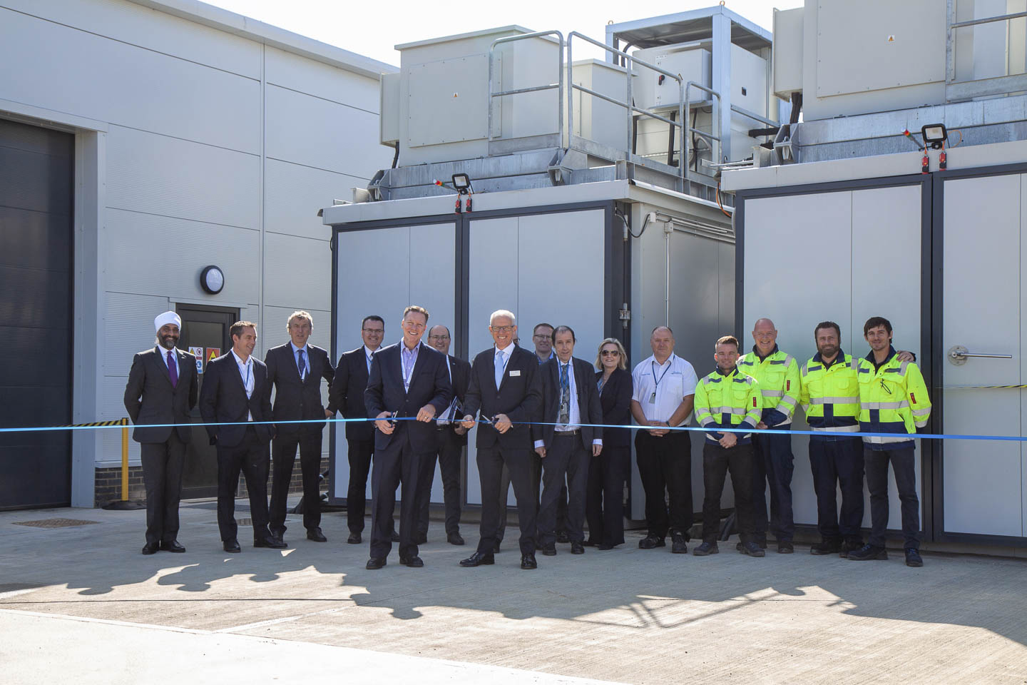 Battery performance test facility opening at Millbrook Proving Ground