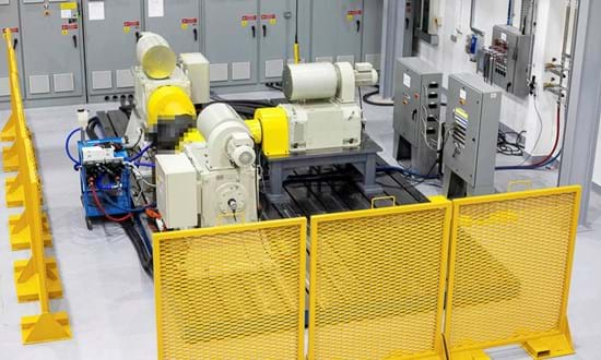 Electric powertrain systems dynamometer test facility at Millbrook in Leyland, UK