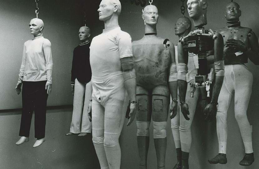 Millbrook Proving Ground crash test dummies in 1970s
