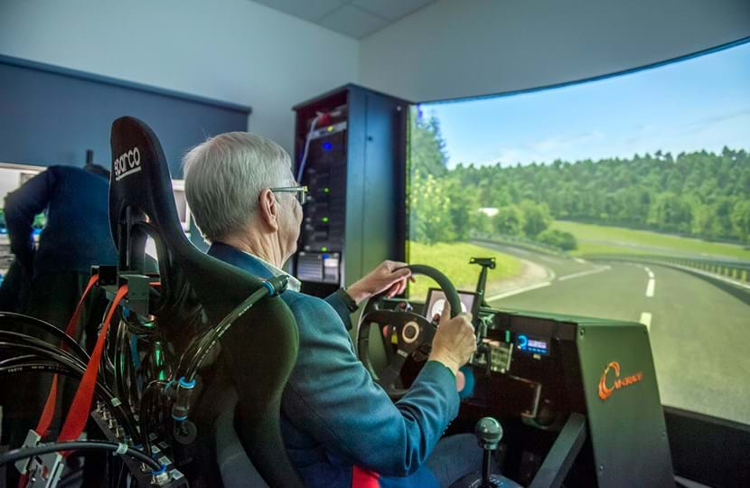 Rod Calvert on Millbrook's Track Simulator, Virtual Proving Ground