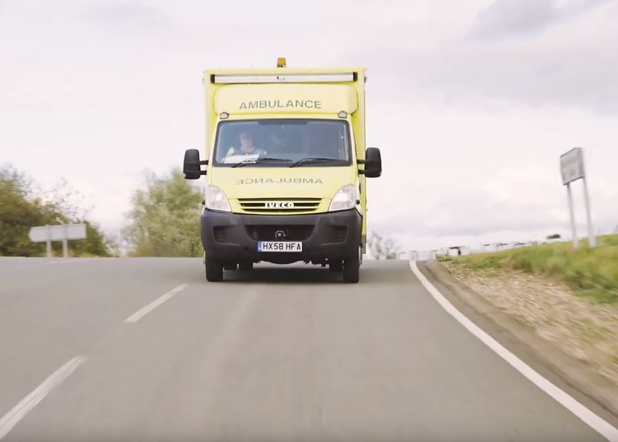 Millbrook 5G Network Smart Ambulance O2 Samsung Visionable Launchcloud