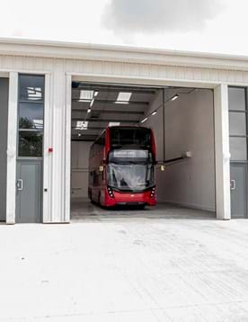 Large vehicle workshops to rent at Millbrook Technology Park