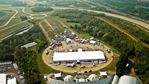 Conference venues for corporate driving experience events at Millbrook Proving Ground